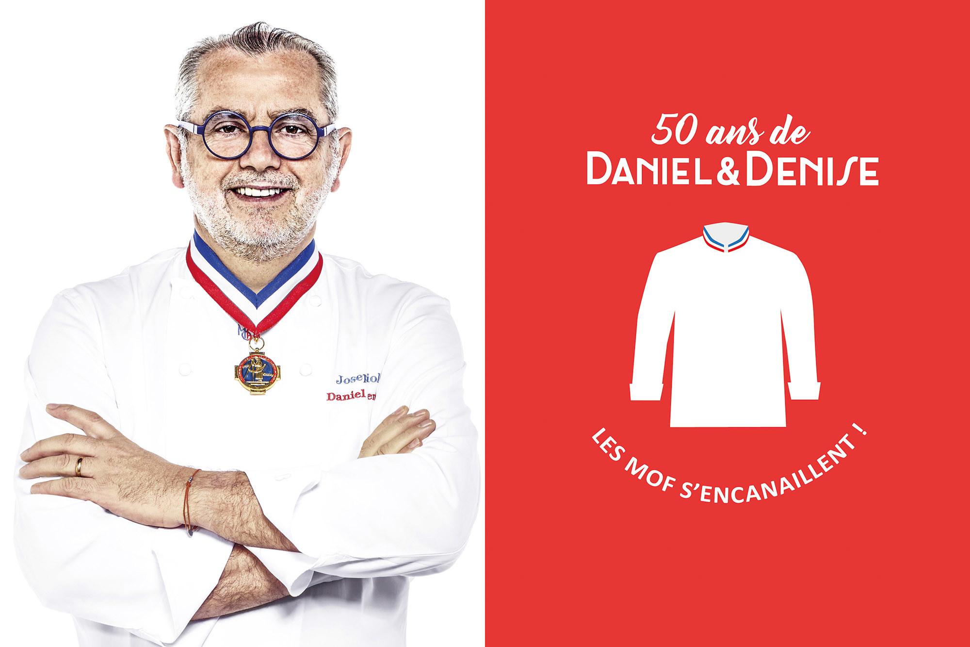 50 ans Daniel & Denise Joseph Viola MOF