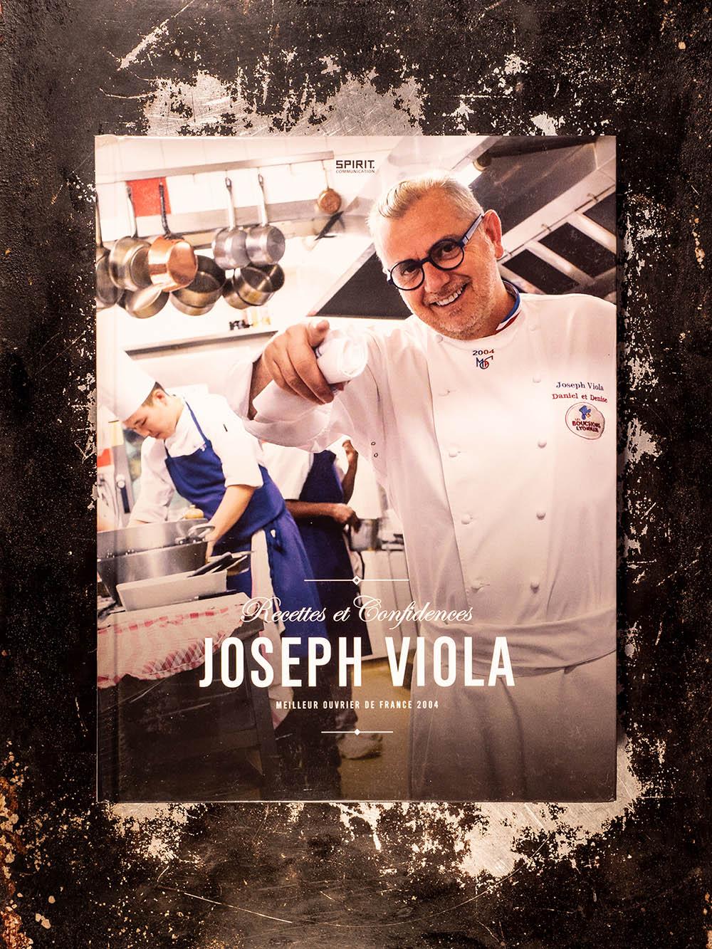 Livre Joseph Viola, Recettes et Confidences