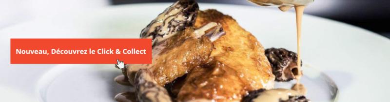 Vente à emporter, bouchon lyonnais, click and collect