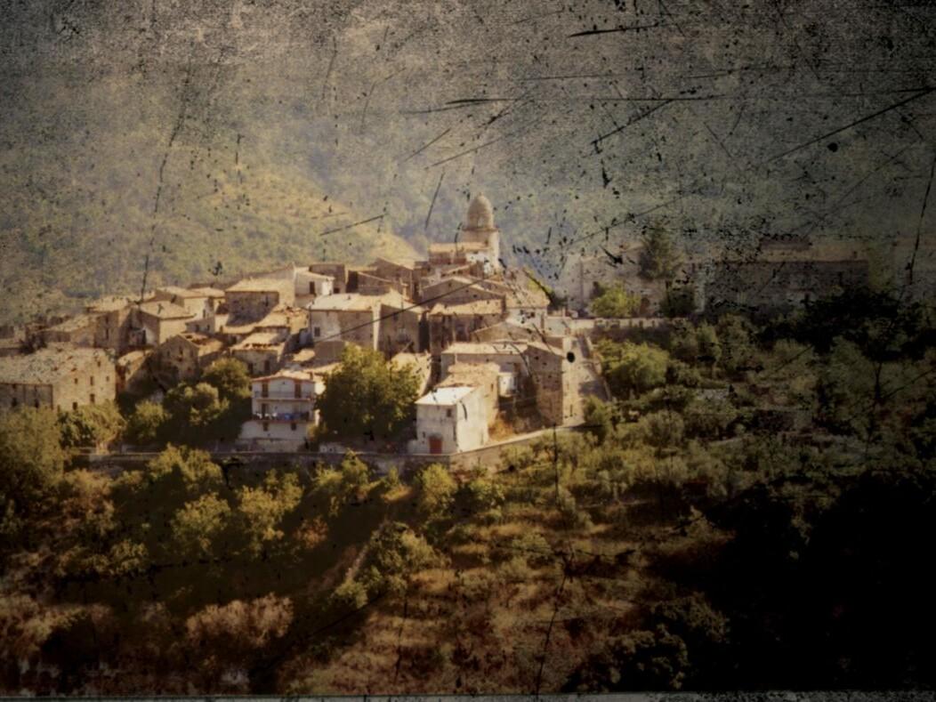 Campana un village calabrais en Italie, archives de la famille Viola