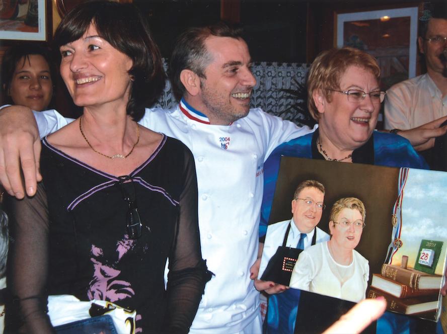 Françoise et Joseph Viola en compagnie de la fameuse Denise